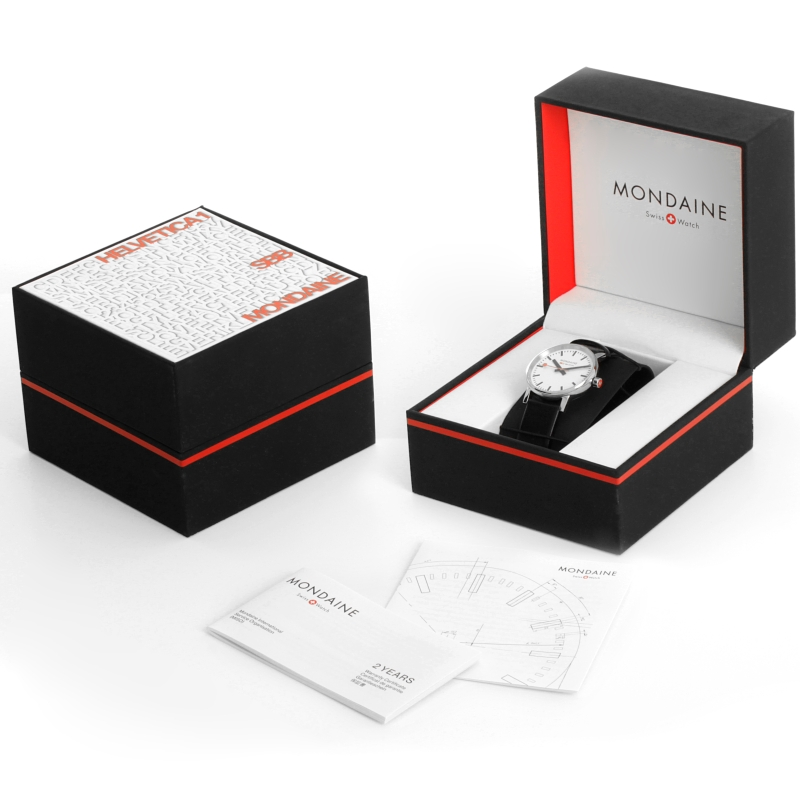 Packaging originale Mondaine