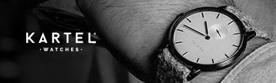 Kartel Tarbert Harris Tweed Uhren