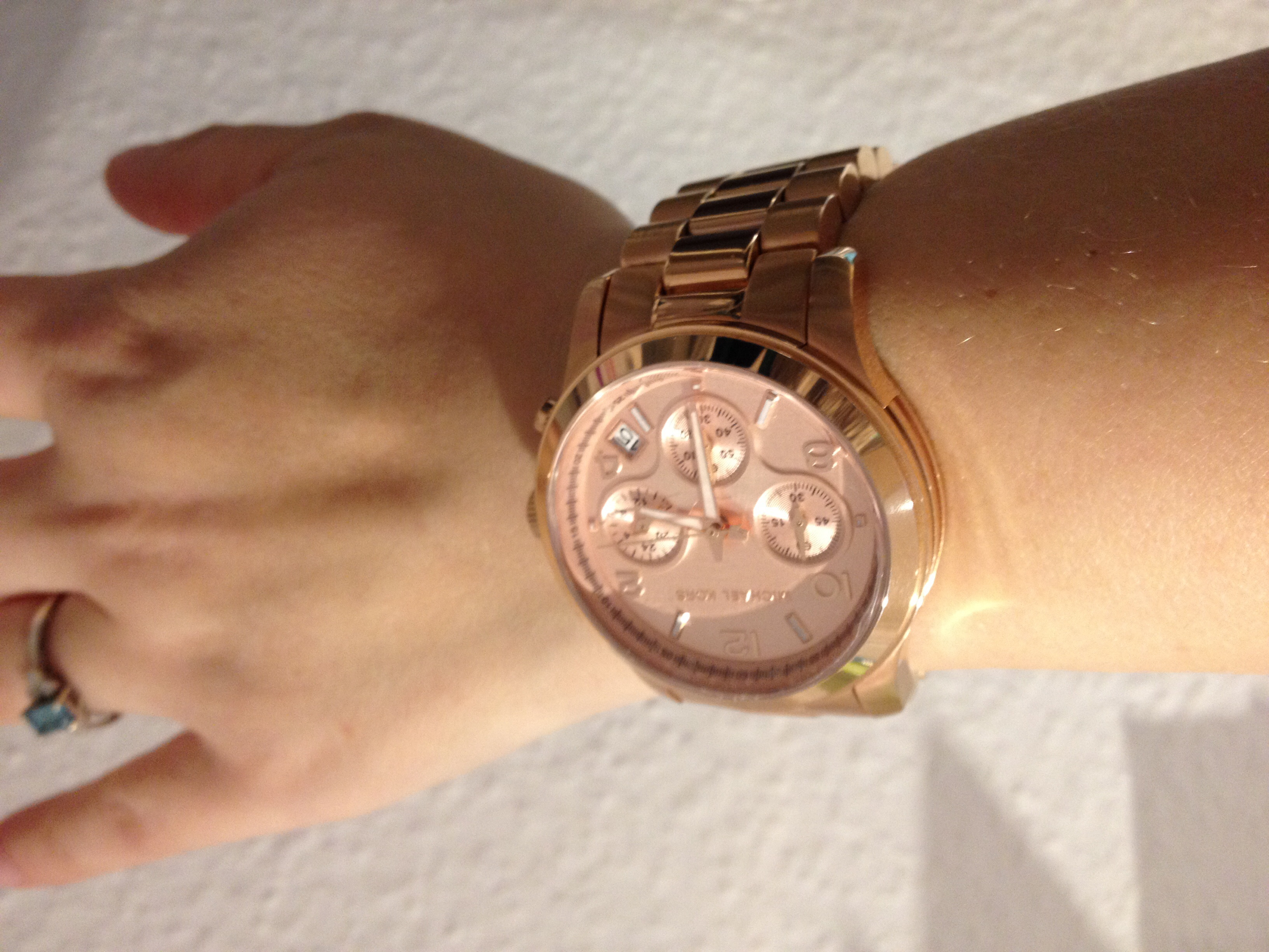 Ladies Michael Kors Runway Chronograph Watch MK5128 WatchShopcom