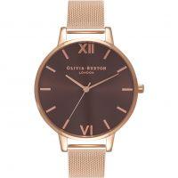 Ladies Olivia Burton Big Dial Mesh Bracelet Watch