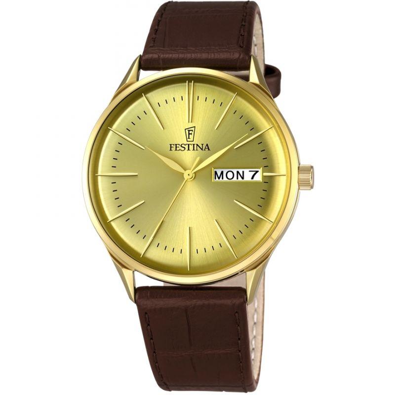 Herren Festina Retro Watch F6838/2
