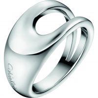 Damen Calvin Klein Edelstahl Größe P Ring