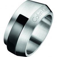 Herren Calvin Klein Edelstahl Größe V Ring