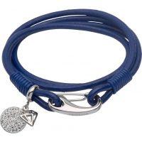 femme Unique & Co & Leather Disc Charm Bracelet Watch B298RB/19CM
