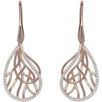 femme Unique & Co Sterling Silver Earrings Watch ME-551