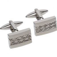 Mens Unique Stainless Steel Cufflinks QC-195