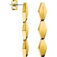 femme Calvin Klein Jewellery Snake Earrings Watch KJ5DJE100100