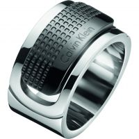 Mens Calvin Klein Stainless Steel Size V/W Confidence Ring