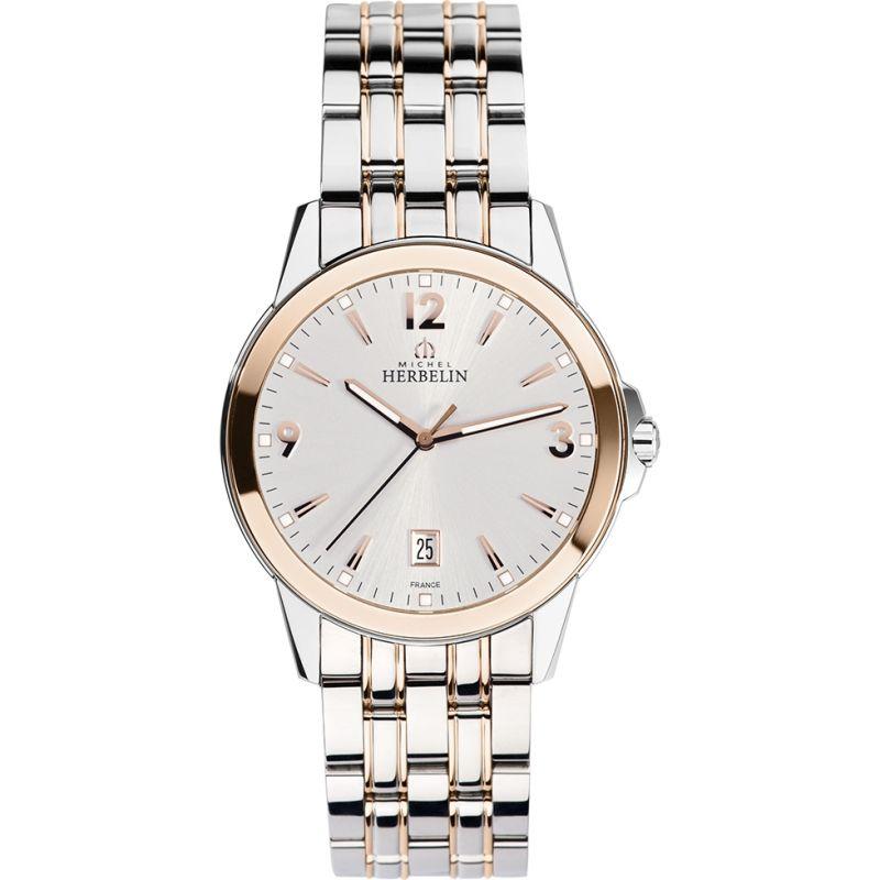 Herren Michel Herbelin Watch 12250/BTR12