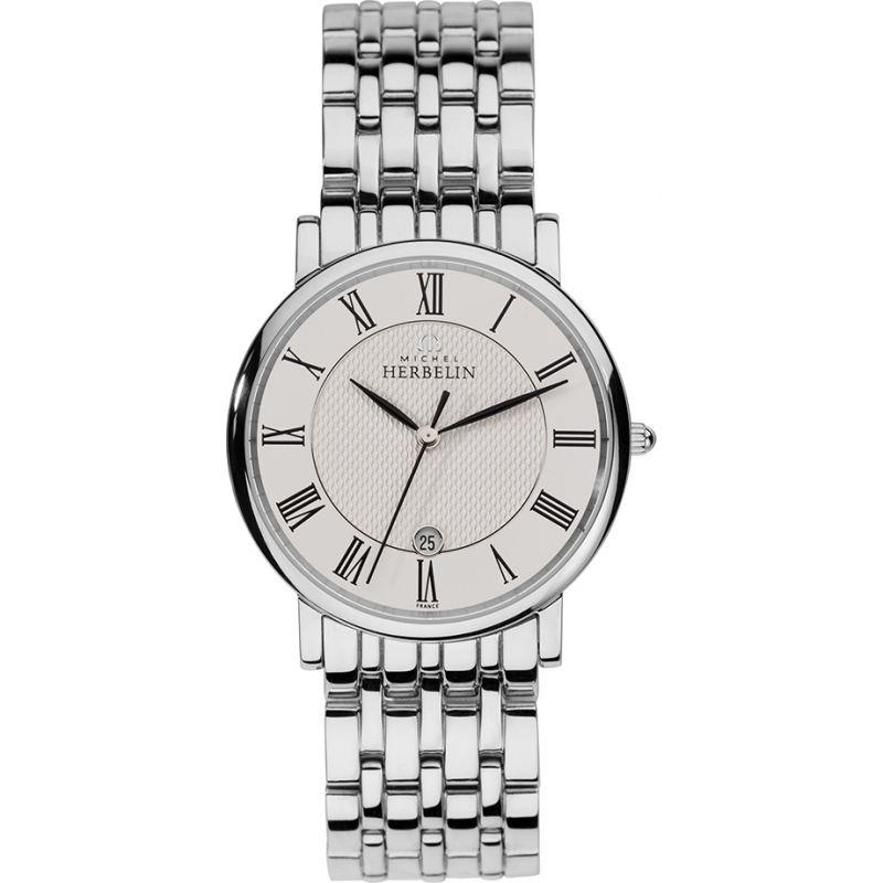 Herren Michel Herbelin Watch 12543/B01