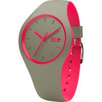 Unisex Ice-Watch Duo Khaki-Pink Uhr