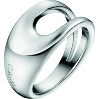 Ladies Calvin Klein Stainless Steel Size L Shade Ring