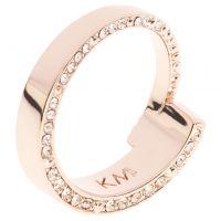 femme Karen Millen Jewellery Contoured Crystal Ring SM Watch KMJ934-24-02SM