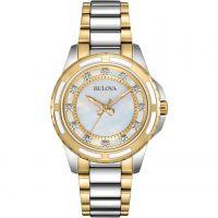 Damen Bulova Diamant Galerie Diamant Uhr