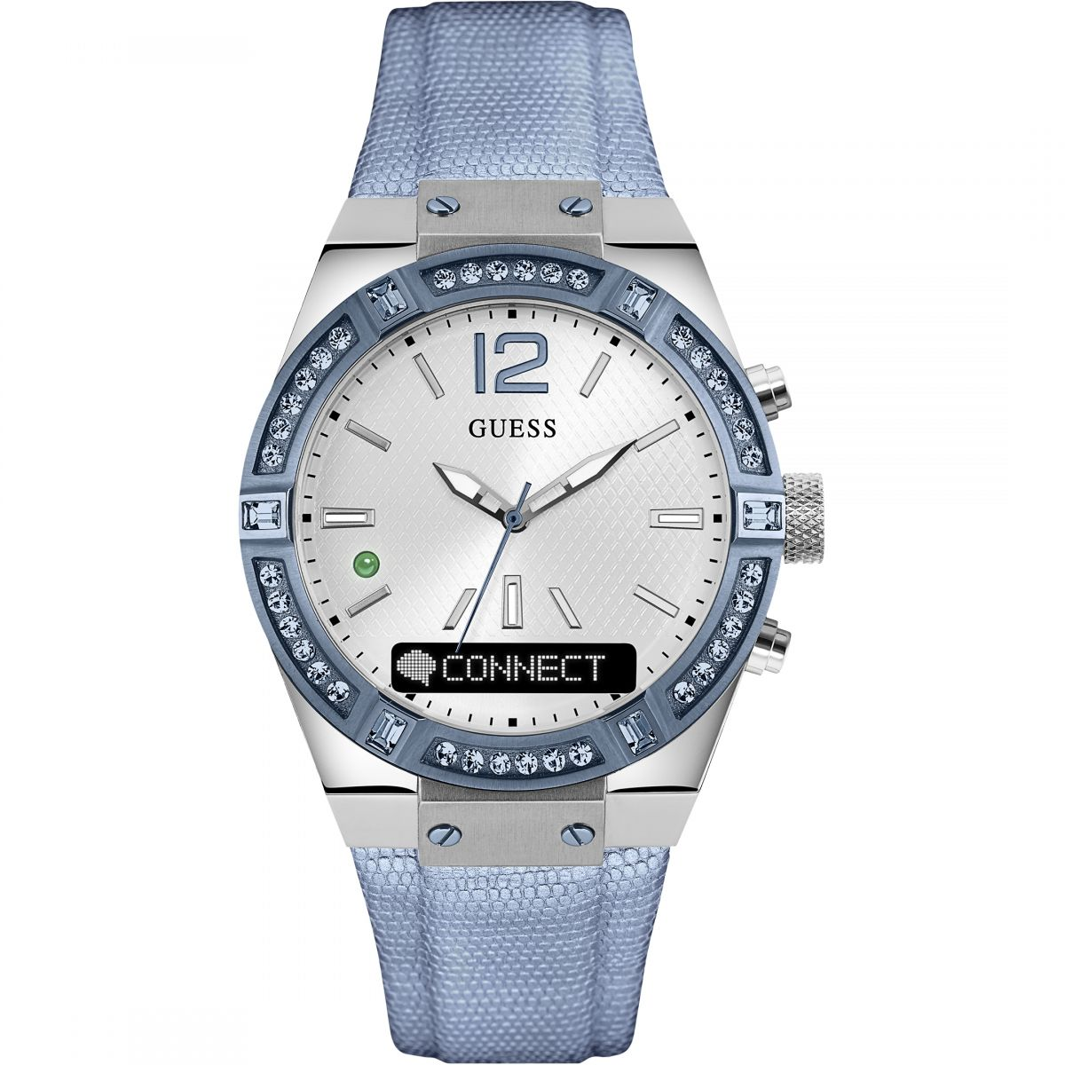 Damen Guess Connect Bluetooth hybrid Smartwatch Uhren C0002M5
