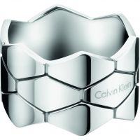 Damen Calvin Klein Edelstahl Größe O Schlange Ring