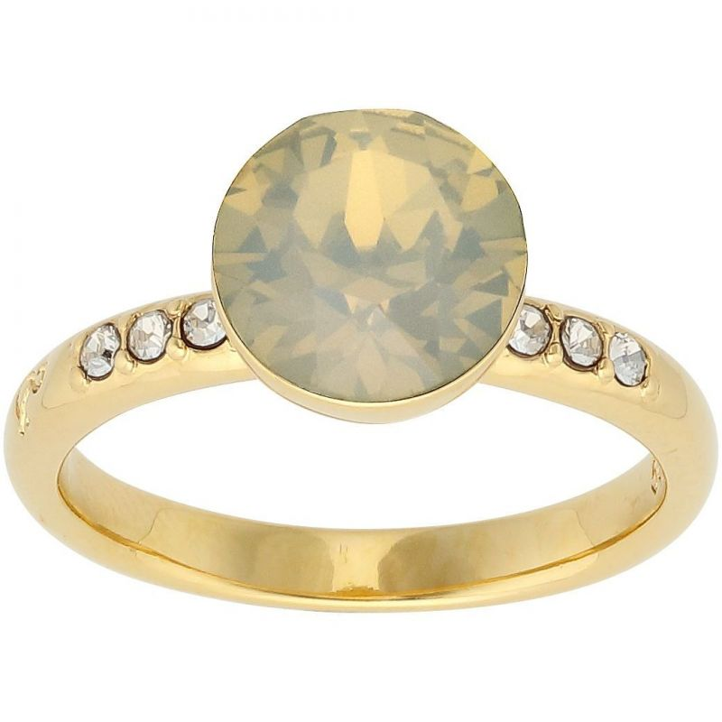 Ladies Lola & Grace Gold Plated Ring Size L 5217099