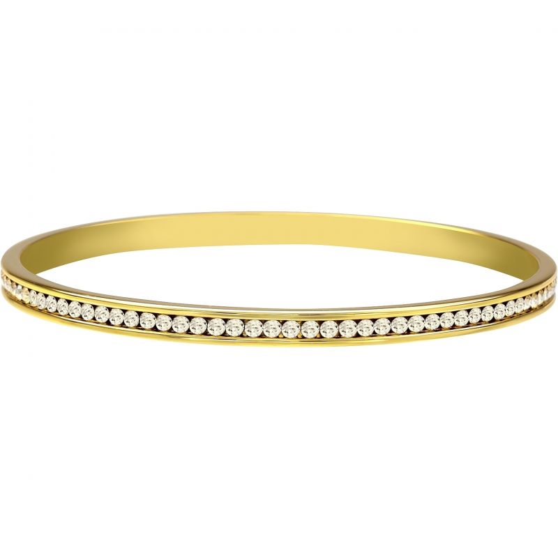 Ladies Lola & Grace Gold Plated Bangle 5028121