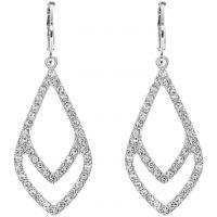 Ladies Anne Klein Silver Plated Socialite Earrings 60440089-G03
