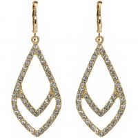 Ladies Anne Klein Gold Plated Socialite Earrings 60440091-887