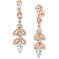femme Anne Klein Jewellery Ear Glam Clip On Earrings Watch 60440286-9DH
