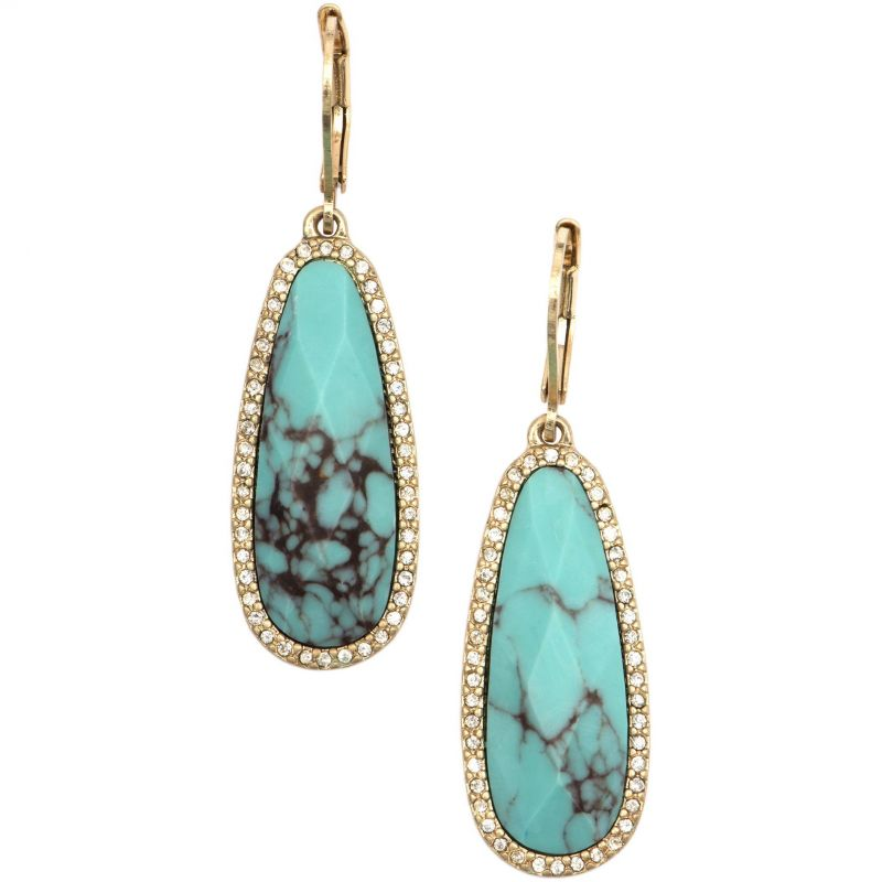 Ladies Lonna And Lilly Gold Plated Earrings 60391075-H46