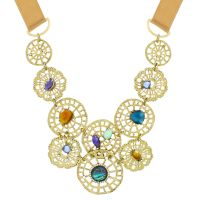 femme Lonna And Lilly Fancy Filigree Necklace Watch 60441103-Z01