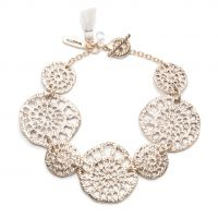 Damen Lonna And Lilly Silber Plated modisch Filigree Armband