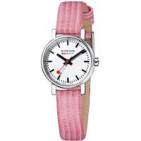 Damen Mondaine Schweizer Railways Evo Petite Uhr