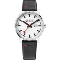 Mens Mondaine Swiss Railways Nord Sud Gottardo Watch