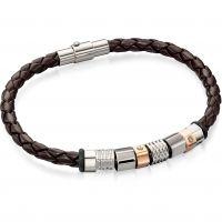 homme Fred Bennett & Leather Bracelet Watch B4544