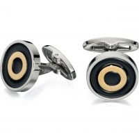 Mens Fred Bennett Stainless Steel Cufflinks V507