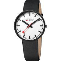 Herren Mondaine Schweizer Railways Evo Giant Uhr