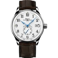 Mens Ball Trainmaster Standard Time Chronometer Watch