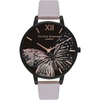 Ladies Olivia Burton After Dark Butterfly Print Watch