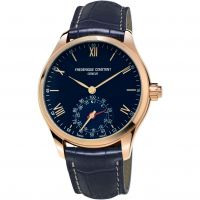 homme Frederique Constant Horological Smartwatch Bluetooth Hybrid Watch FC-285N5B4