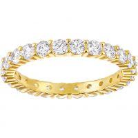 Damen Swarovski vergoldet Größe N Vittore Ring