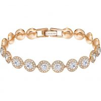 Ladies Swarovski Rose Gold Plated Angelic Bracelet 5240513