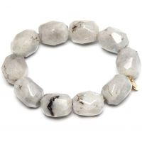 Ladies Lola Rose Gold Plated Light Labradorite Amba Bracelet 588997