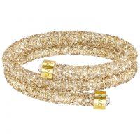 Damen Swarovski vergoldet Crystaldust Armreif