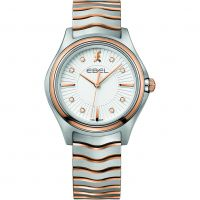 femme Ebel Wave Diamond Watch 1216306