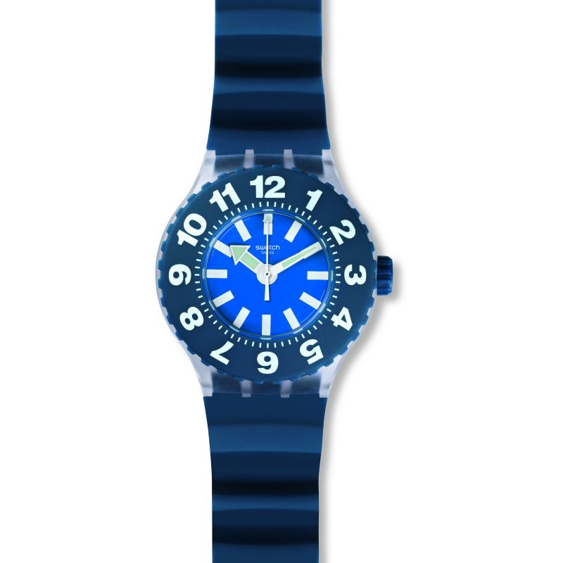 Unisex Swatch Die Blaue Watch SUUK112