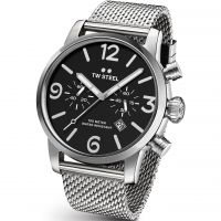 Mens TW Steel Maverick 47mm Watch TWMB14