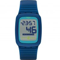 homme Swatch Electrozero2 Bluetooth Alarm Watch SVQN100