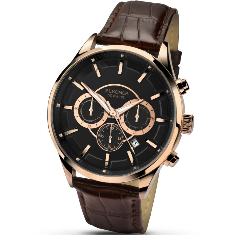 Mens Sekonda Chronograph Watch 1178