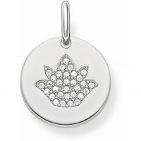 Ladies Thomas Sabo Sterling Silver Pendant Charm LBPE0006-051-14