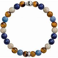 femme Thomas Sabo Jewellery Rebel At Heart Stretch Skull Bracelet Watch A1532-926-7-L19