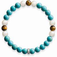 femme Thomas Sabo Jewellery Rebel At Heart Bracelet Watch A1559-937-17-L19