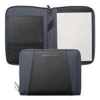 N/A Hugo Boss Pens Base metal Keystone Grey A5 Conference Folder