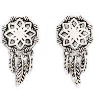 Chrysalis Charmed Dream Catcher Earrings JEWEL